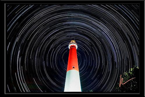 Barnegat Light Star Trails