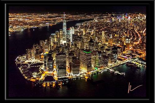 Manhattan Island Night