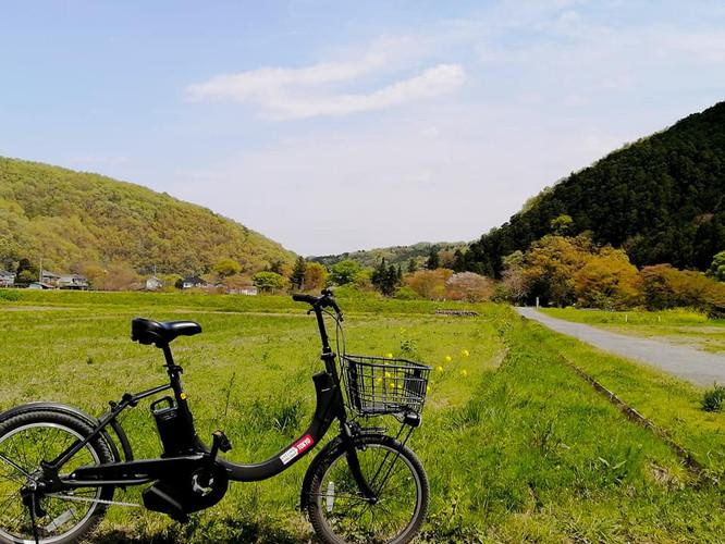 東京近郊の里山サイクリング開始
