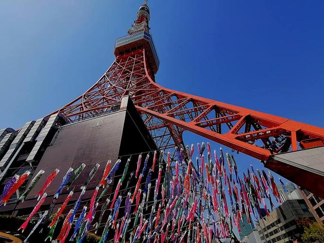 東京タワーは節句飾り