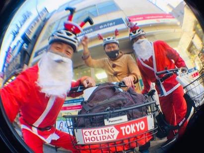 サンタとトナカイがルートチェック!?