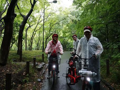 ☔Do we cycle even rain?🚴