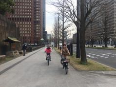 丸の内~大手町界隈をサイクリング