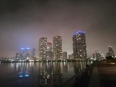 深夜の湾岸えr