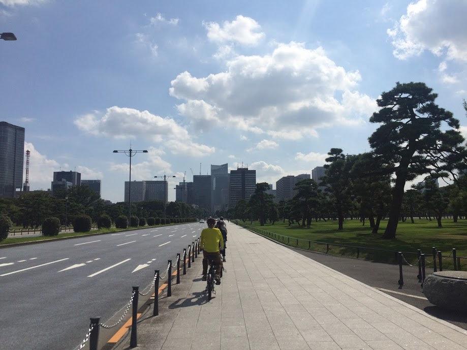 東京都心の自然でリフレッシュ!サイクリングツアー