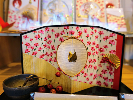 Beautiful Hand Made Card in Asakusa ✉