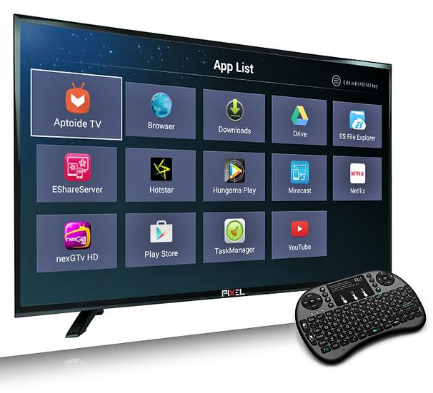 PIXEL 102cm (40 inch) SMART FULL HD LED TV  (P2PXL40SMT)