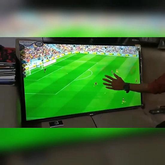 """43"""" WORLDTECH + TUFF GLASS LED-TV"""