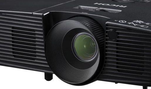 Ricoh PJ-TS100 Portable Projector  (Black) Refurbish