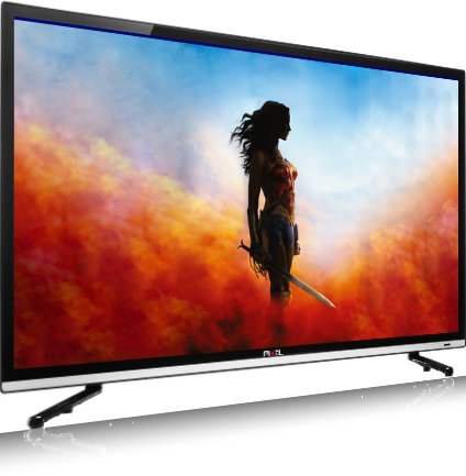 PIXEL 60cm (24 inch) HD Ready With Tempered Glass LED TV  (P2PXL24DG)