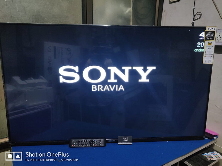 "55"" SONY PANEL FREMLESS LED-TV"