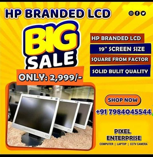 "🖥️19"" HP BARNDED LCD MONITOR DHAMAKA OFFER🖥️"