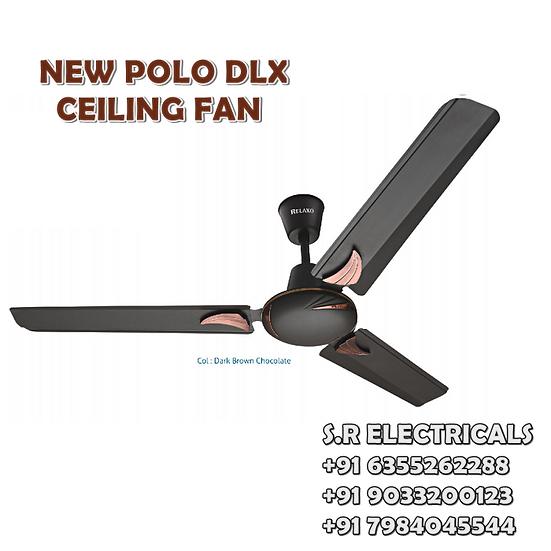 RELAXO_NEW-POLO-DLX_48 INCH_MATT_BROWN_CEILING_FAN