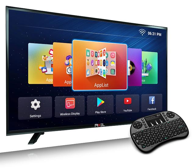 PIXEL 107cm (42 inch)  FULL HD SMART  LED TV  (P2PXL42HD)