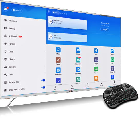 PIXEL 140cm (55 inch) UHD 4K SMART LED TV  (P2PXL554K)
