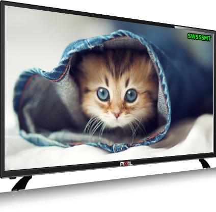 PIXEL 140cm (55 inch) UHD 4K SMART LED TV (SWPXL55SMT)