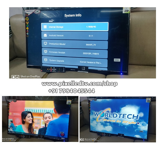 """📺40"""" WORLDTECH_FULL HD_SMART_ANDROID 5.1.1_LED-TV DHAMAKA OFFER📺"""
