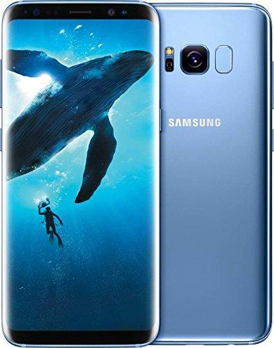 """Samsung Galaxy S8  5.8"""" Dual SIM Phone with 4GB RAM + 64GB ROM - Blue"""