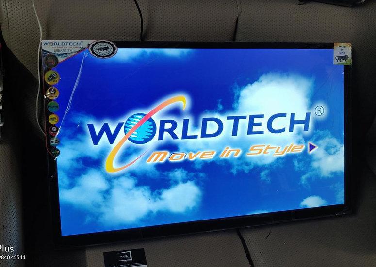 "32"" WORLDTECH + TUFF GLASS LEDTV"