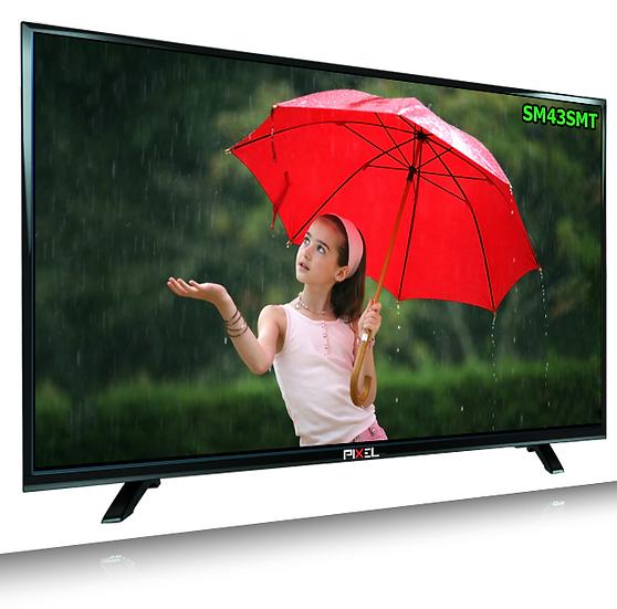 PIXEL 108cm (43 inch) UHD 4K SMART LED TV (SWPXL43SMT)