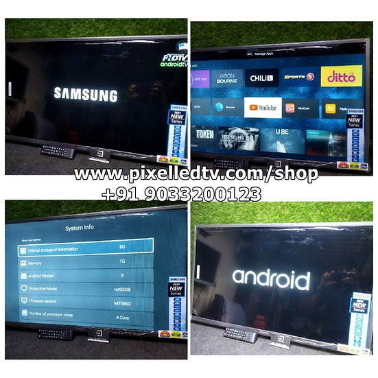 """📺40"""" SAMSUNG PANEL + SMART + ANDROID 9.0 LED-TV"""