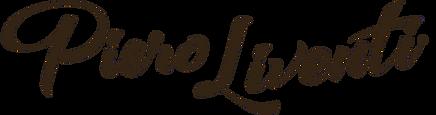 Piero Liventi Logo Brown Transparent S R