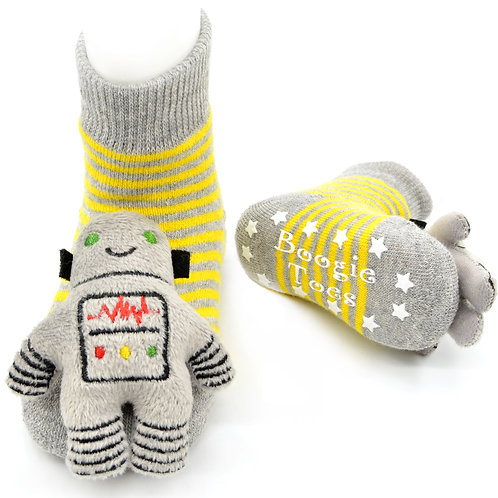 My first Robot Boogie Toes Rattle Socks