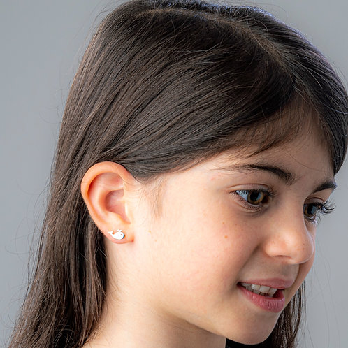 Whale Boogie Lobes Earrings - Stainless 316 - Wholesale