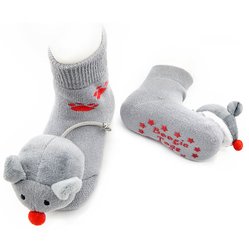 Mini Mouse Boogie Toes Rattle Socks - Wholesale