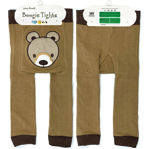 Grizzly Bear Boogie Tights Baby Leggings