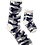 Thumbnail: Daddy and Me Socks, Military Gray - Wholesale