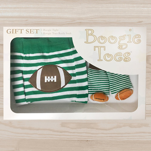 Football Tight Rattle Gift Box 6-12M - Wholesale