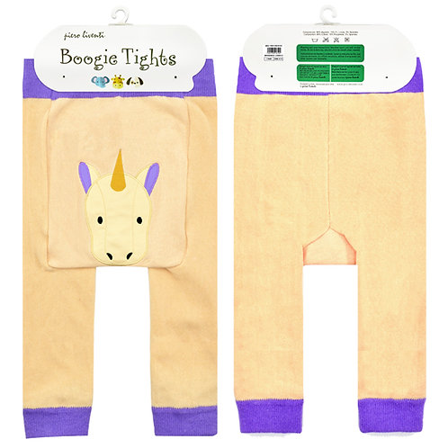 Golden Unicorn Boogie Tights Baby Diaper Pants