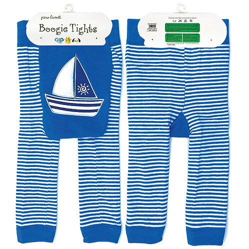 Sailboat Boogie Tights Baby Leggings