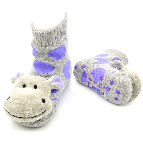 Happy Hippo Boogie Toes Rattle Socks - Wholesale
