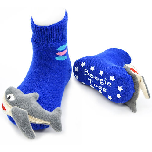 Baby Shark Boogie Toes Rattle Socks