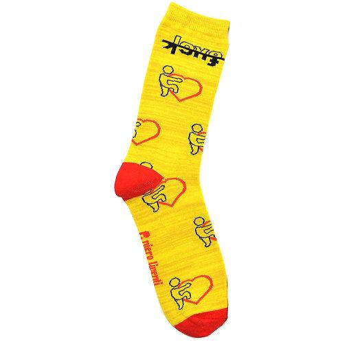 Love F&ck - Adult Sock - Size M