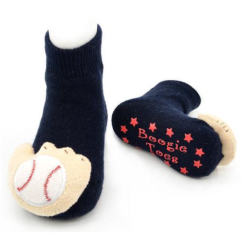 Baseball Mitt Boogie Toes Rattle Socks