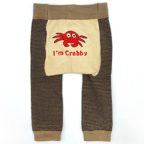 I'm Crabby - Baby Tights Baby Leggings