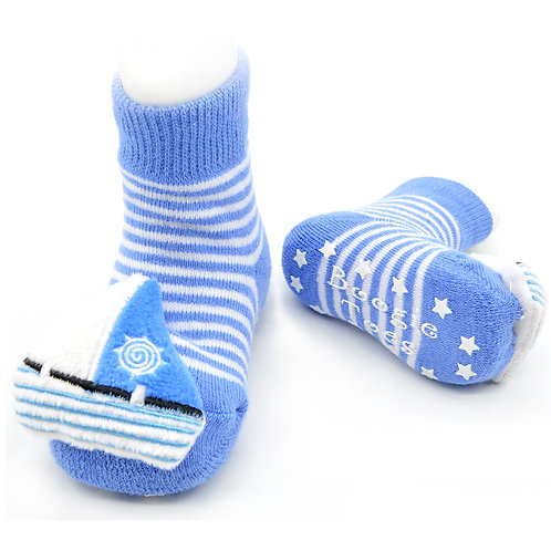 Sailboat Boogie Toes Rattle Socks