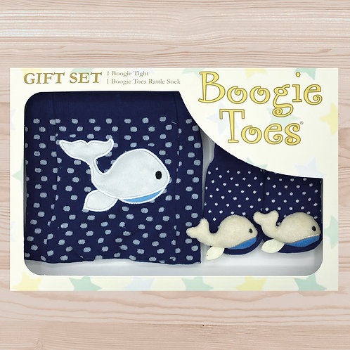 Whale Tight Rattle Gift Box 6-12M - Wholesale