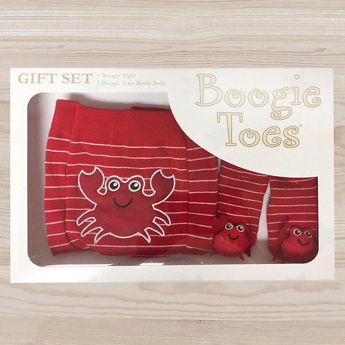 Red Crabby Tight Rattle Gift Box 6-12M - Wholesale