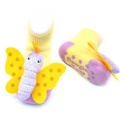 Butterfly Boogie Toes Rattle Socks