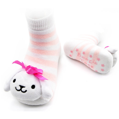 Toy Puppy Boogie Toes Rattle Socks