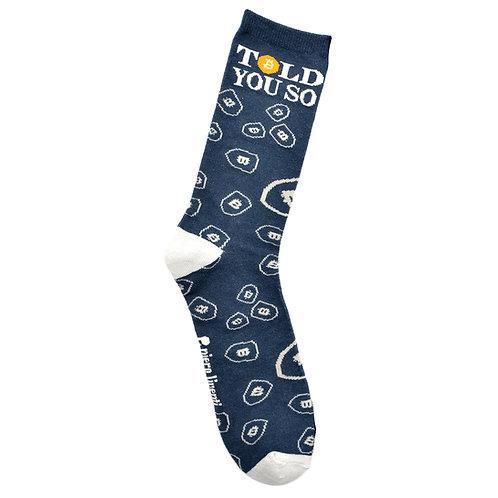 Bitcon - Adult Sock - Size L - Wholesale