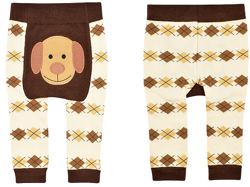 Brown Dog Boogie Tights Baby Diaper Pants