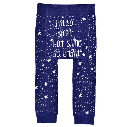 I'm So Small, But Shine So Bright - Baby Tights Baby Leggings