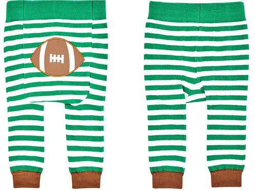 Football Boogie Tights Baby Diaper Pants