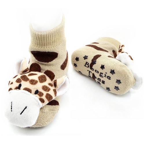Giraffe Boogie Toes Rattle Socks