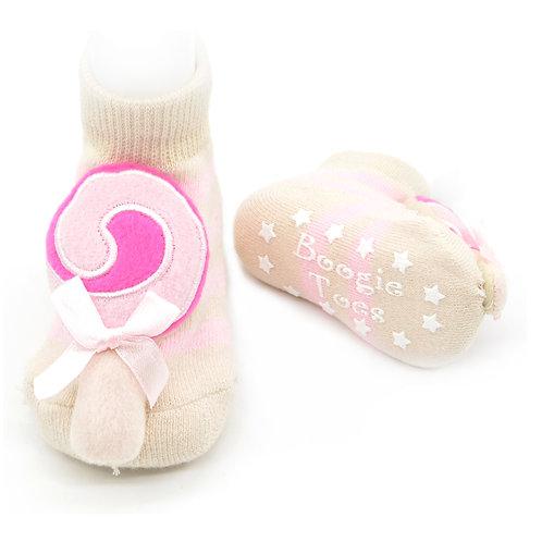 Lollipop Boogie Toes Rattle Socks